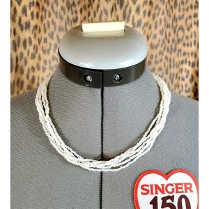 6 Strand Pearl Necklace